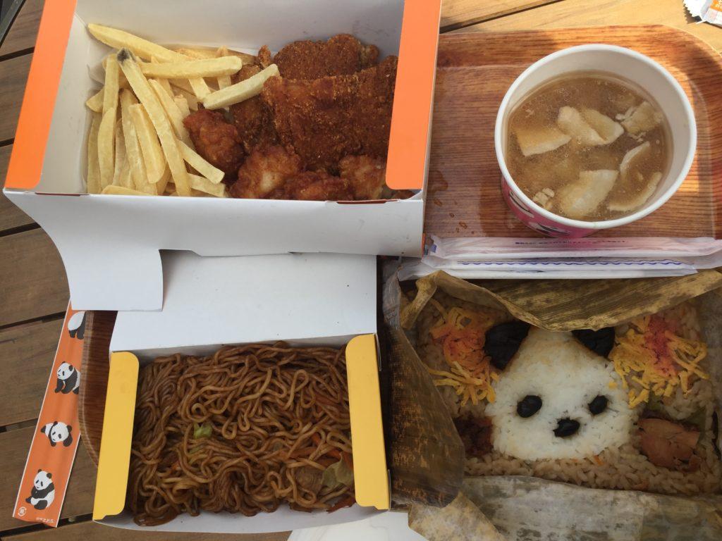 上野動物園のパンダ弁当