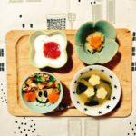 2歳のこどもごはん★(11/5~11/9)鶏肉と牛丼を使った一週間の献立