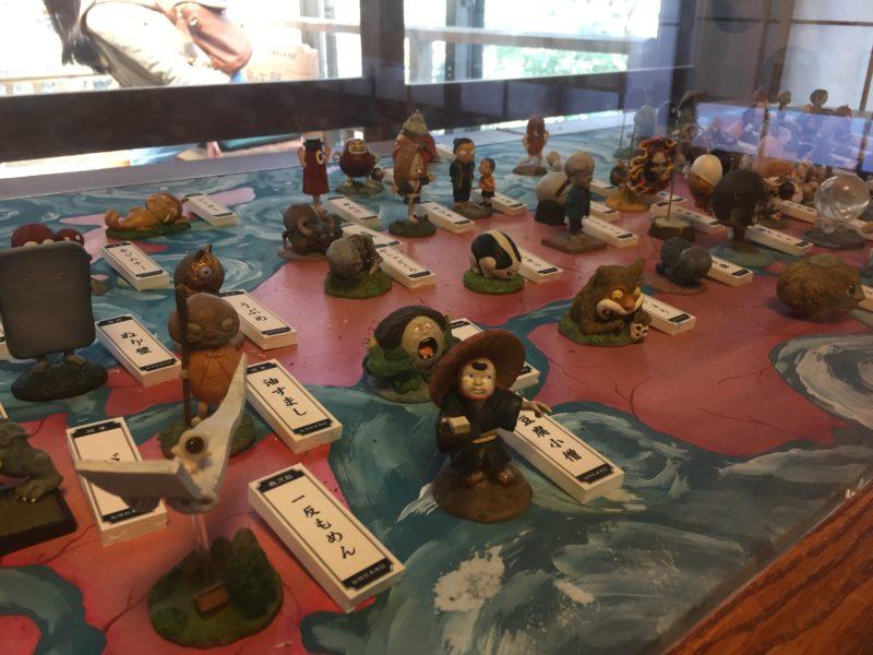 鬼太郎茶屋の妖怪ギャラリー
