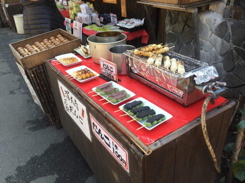 深大寺の食べ物