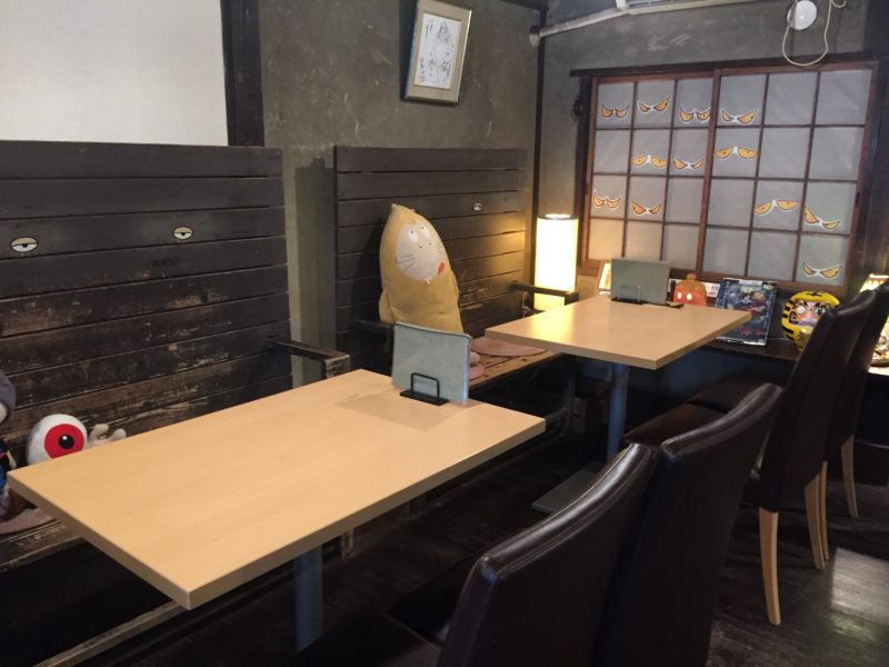 鬼太郎茶屋の店内