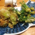 意外と簡単!ふきのとうの天ぷらやウドの酢味噌和えなど春の山菜のおつまみ
