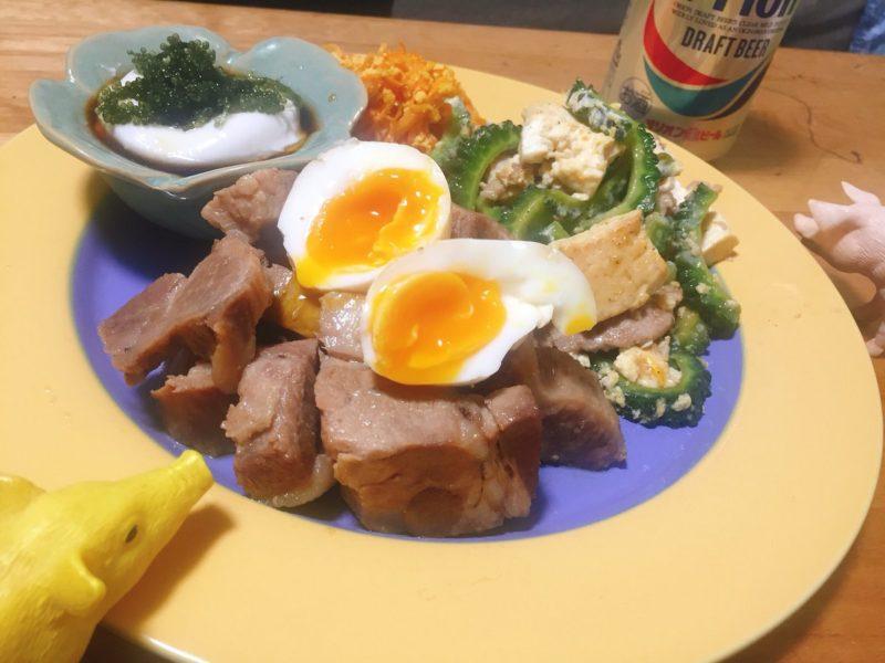 沖縄料理の献立