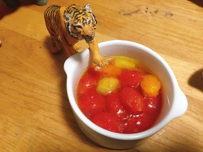 トマトのはちみつマリネ