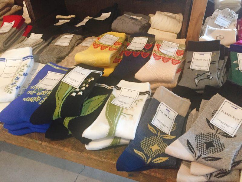 手紙舎の靴下