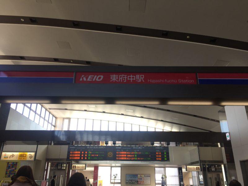 府中の森公園の最寄り駅京王線東府中駅