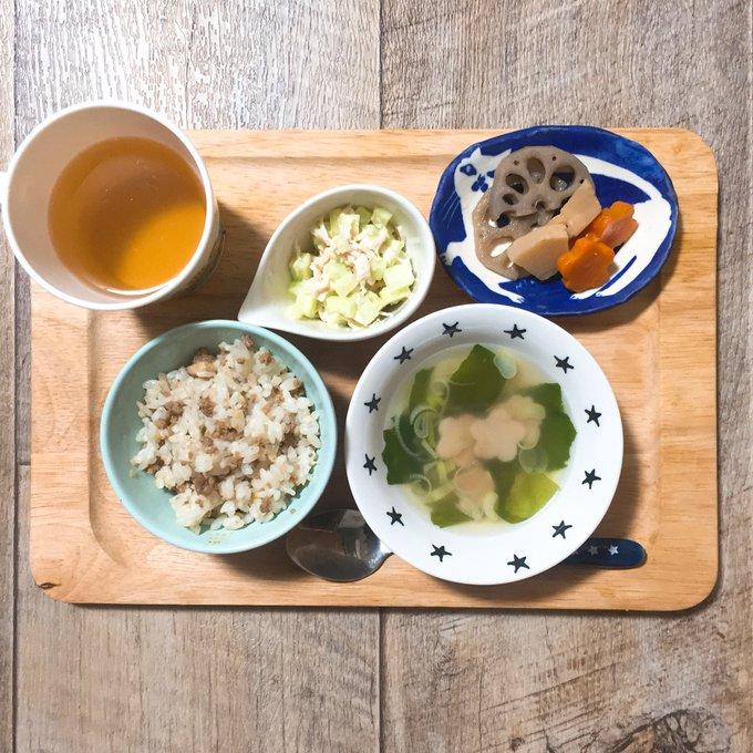 肉味噌の子供ご飯