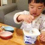 簡単!子供と一緒にヨーグルトアイス作り
