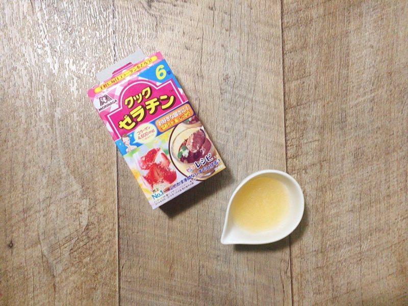 豆花レシピはゼラチンを溶かす