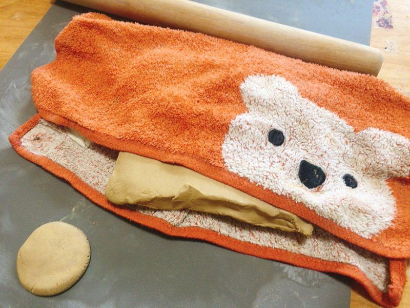 オーブン粘土を作るときのポイント