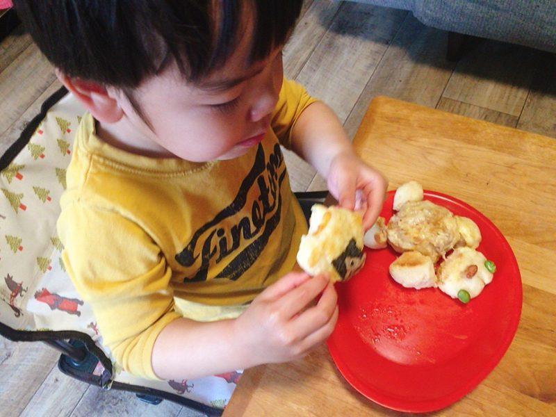 子供が食べる朝ごはん