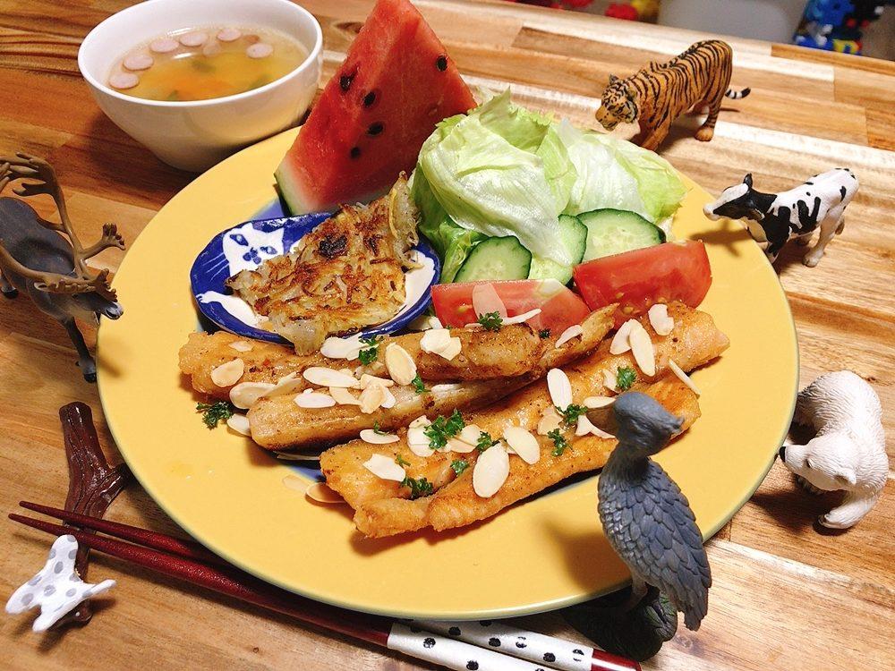 【世界の料理】ルクセンブルク料理風のレシピと献立│サーモンアーモンドバターソース