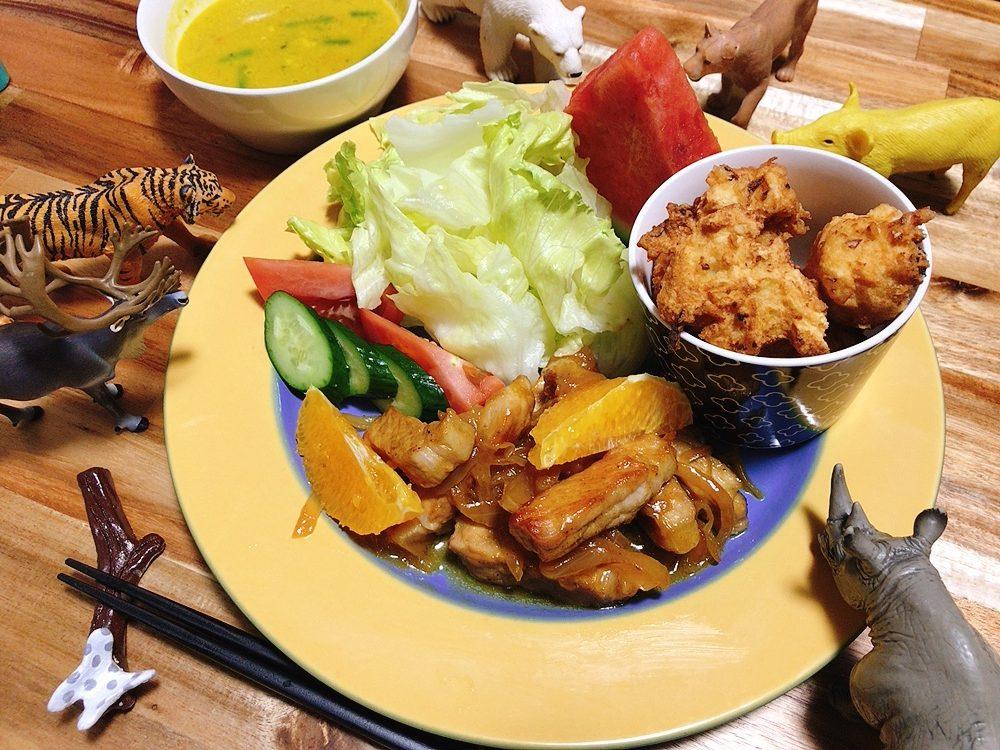 【世界の料理】ハイチ料理風のレシピと献立│肉嫌いな息子も完食!豚肉のオレンジ煮込み