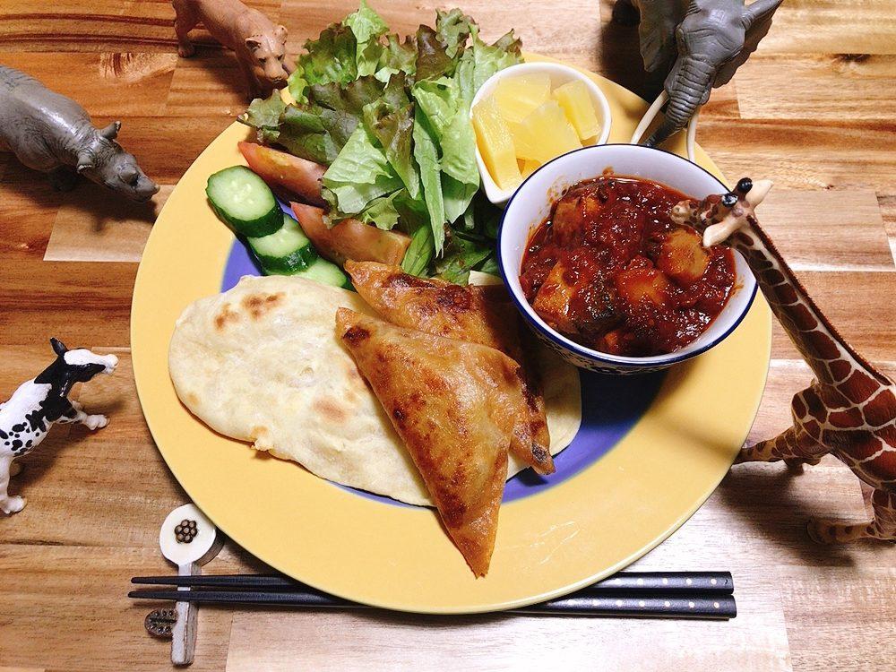 【世界の料理】コモロ料理のレシピと献立│簡単でおいしい!ナンとサモサもどき