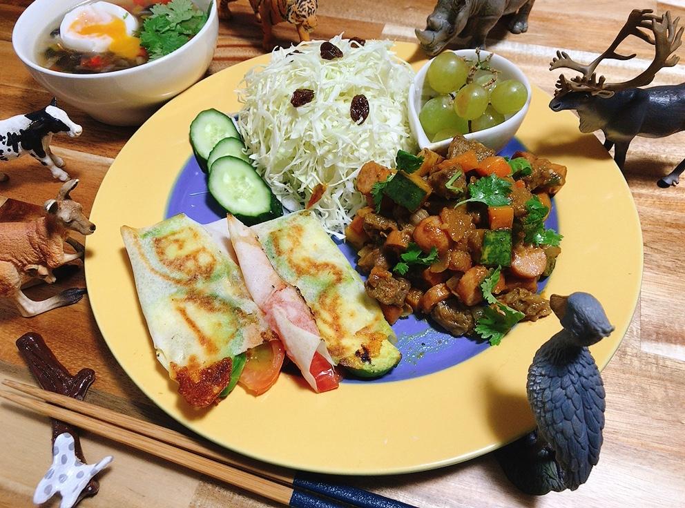 【世界の料理】コスタリカ料理風のレシピと献立│苦手な野菜も克服!肉と野菜のカレー炒め