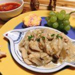 【世界の料理】モルドバ料理風のレシピと献立│ヨーグルトシチューとミルフィーユサラダ