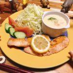 ノルウェー料理風レシピと献立│サーモンソテーと魚介のシチュー