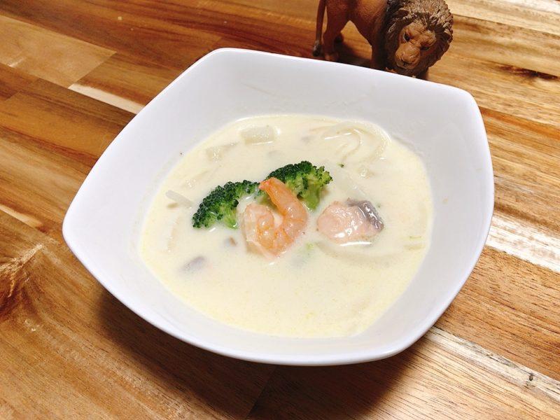 ノルウェーの魚介のスープ