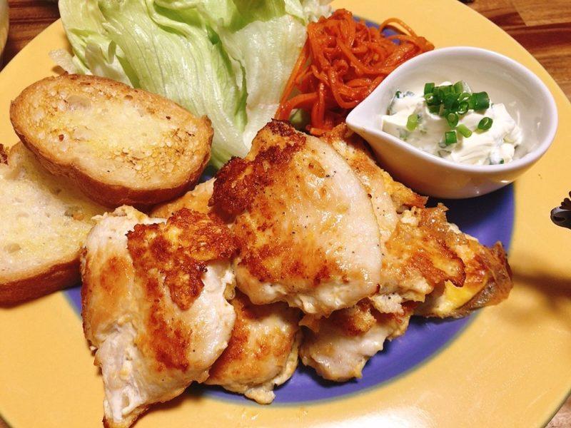 鶏肉のチョップのレシピ