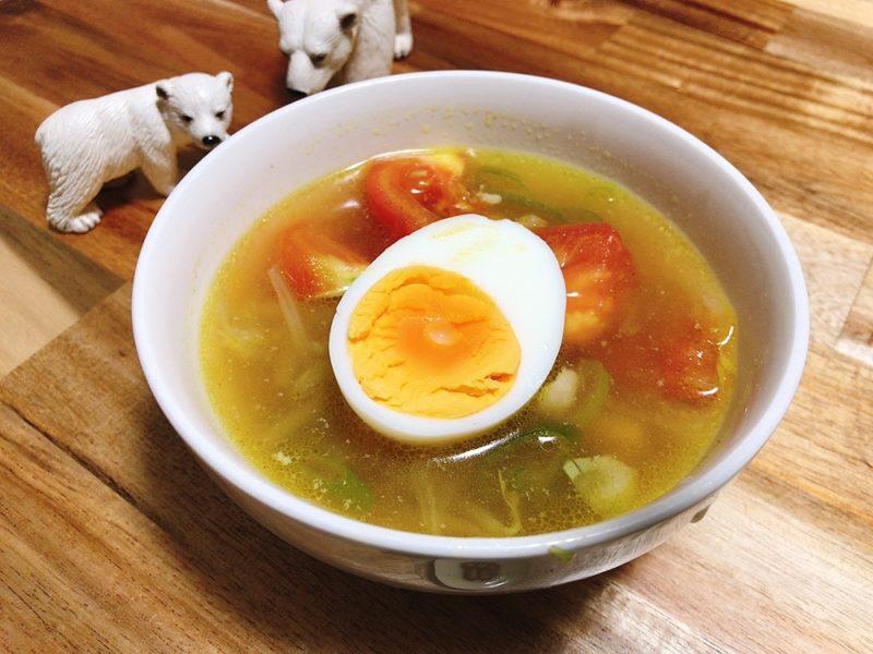 インドネシアのスープ「ソトアヤム」のレシピ