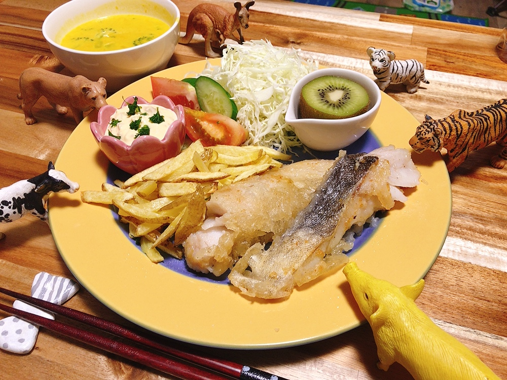 【世界の料理】ニュージーランド料理のレシピと献立│子供大好きフィッシュアンドチップス
