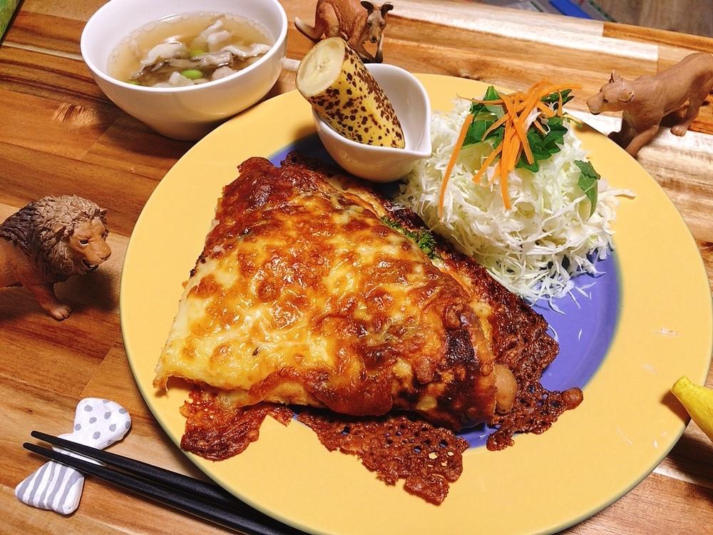 【世界の料理】オーストリア料理風のレシピと献立│チーズたっぷりクレープグラタン