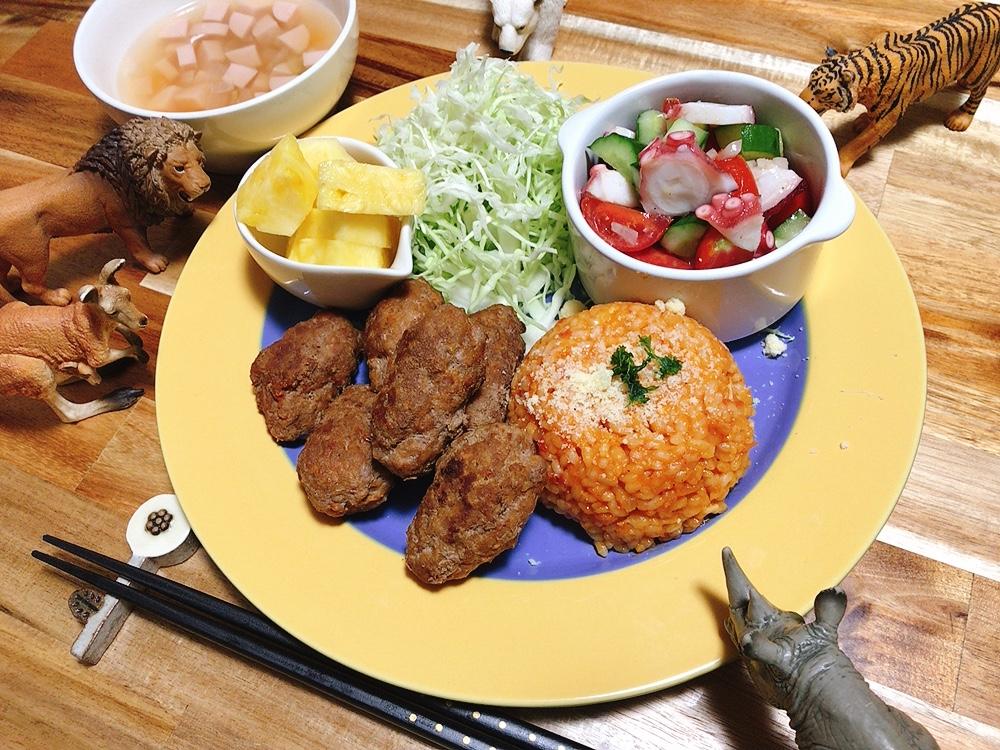 【世界の料理】クロアチア料理風のレシピと献立│手作りソーセージと生米から作るトマトリゾット