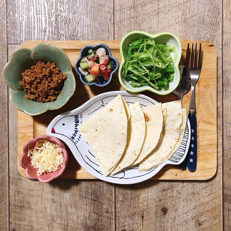 メキシコ料理の献立