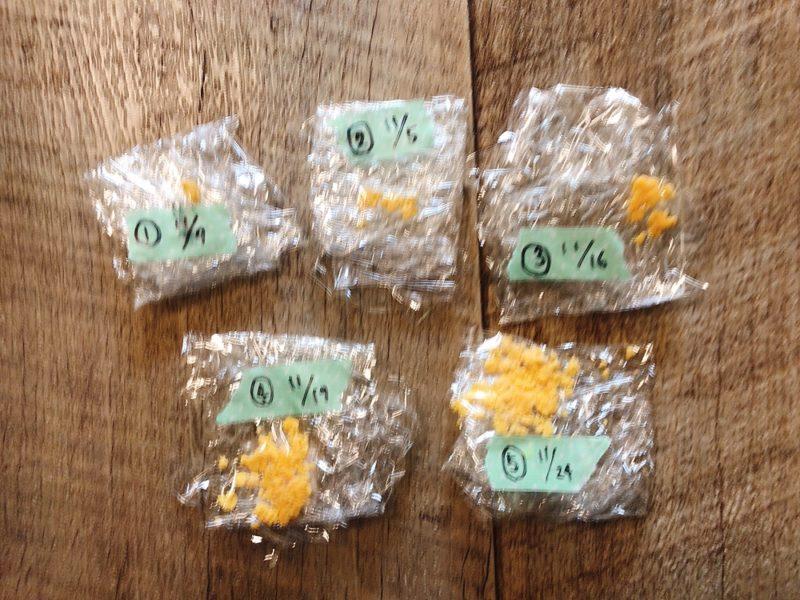 卵黄スケジュール│フリージングの仕方