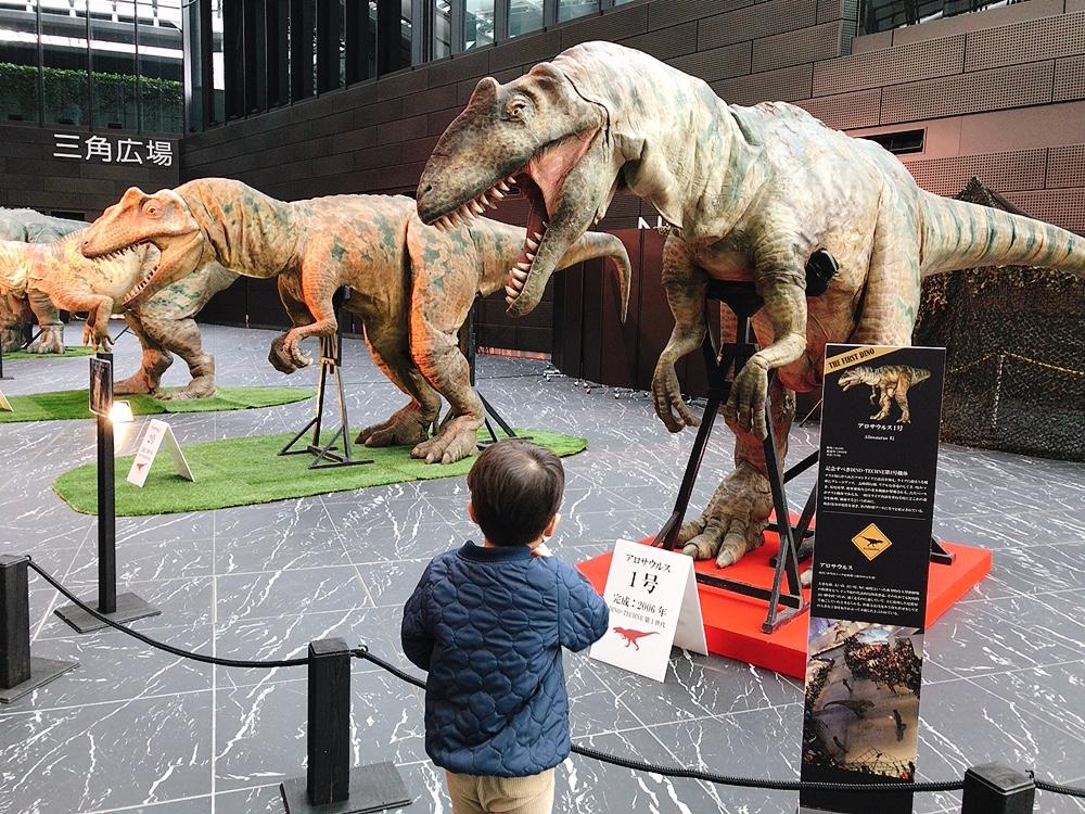 新宿住友ビルで開催中のディノアライブ恐竜たち展に行ってきました