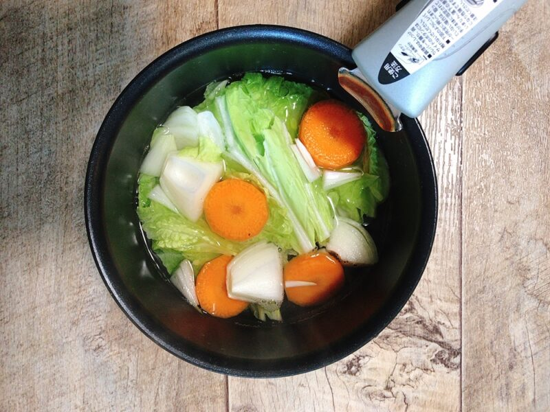 離乳食の野菜ミックスのレシピ