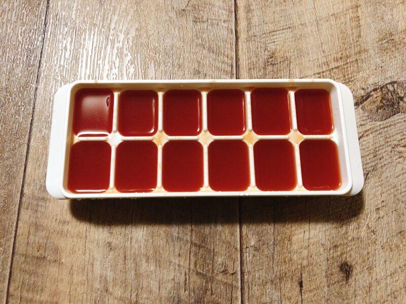トマトピューレの冷凍保存方法