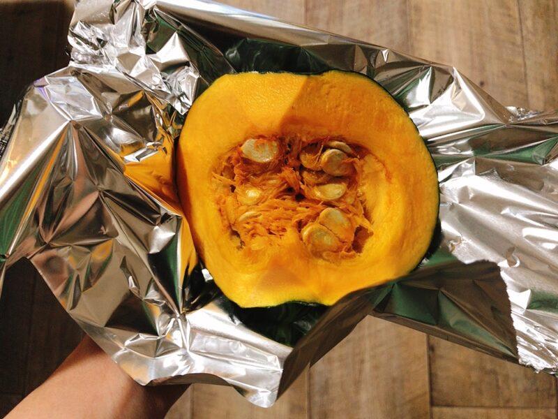 炊飯器でかぼちゃ