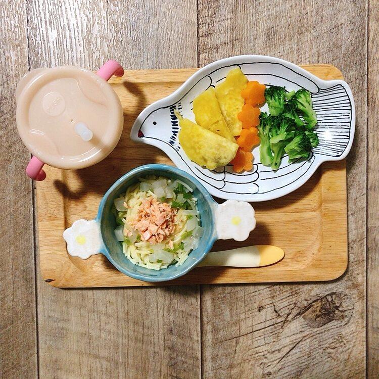 離乳食後期│9~11ヶ月3週目の献立例